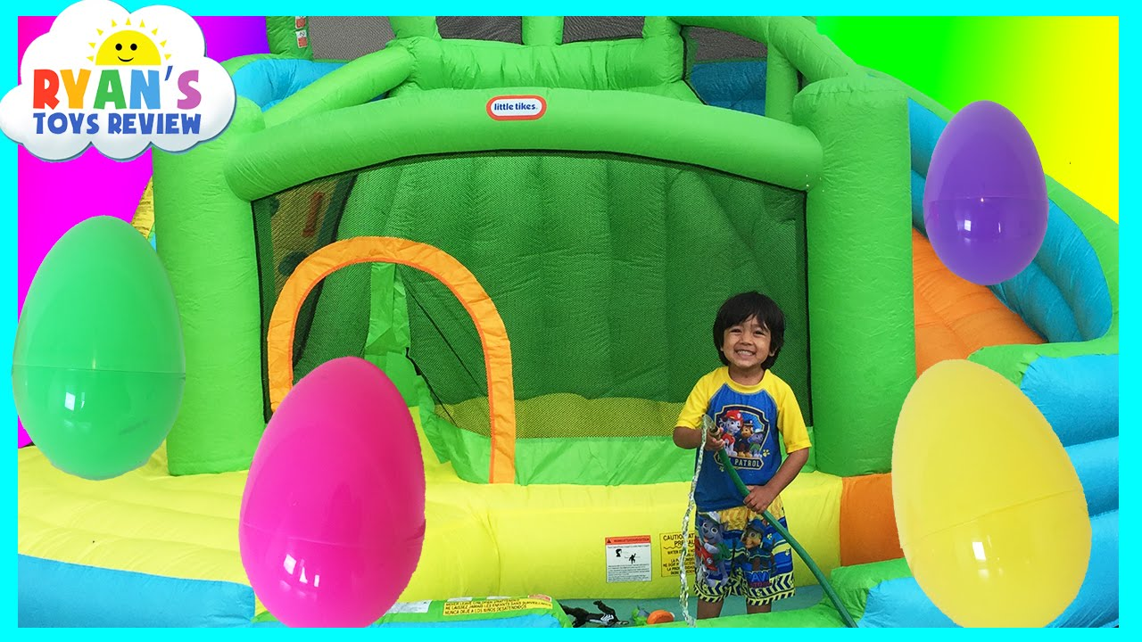 Inflatable Bounce House is The Best Outdoor Toy For Toddlers